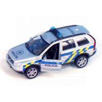 Kids Globe Auto Volvo Policie 14cm na zpětné natažení