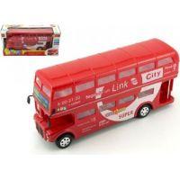 Autobus Londýn dvoupatrový na baterie