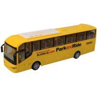 Made Autobus na dálkové ovládání 4 kanál se světlem žlutý