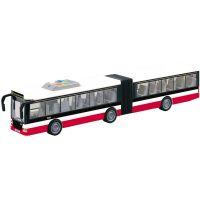 Autobus na zotrvačník hovorí česky hlási zastávky CZ design