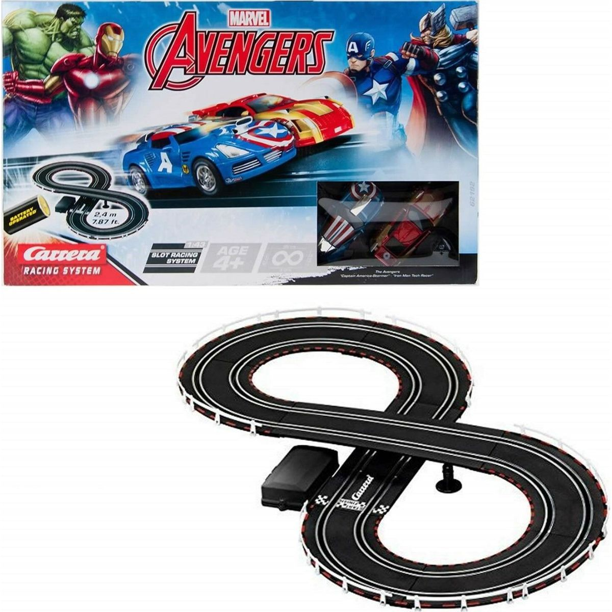Autodráha Carrera GO Avengers