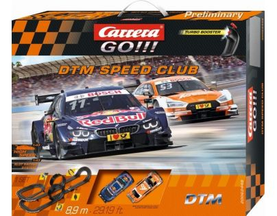 Autodráha Carrera GO DTM Speed Club