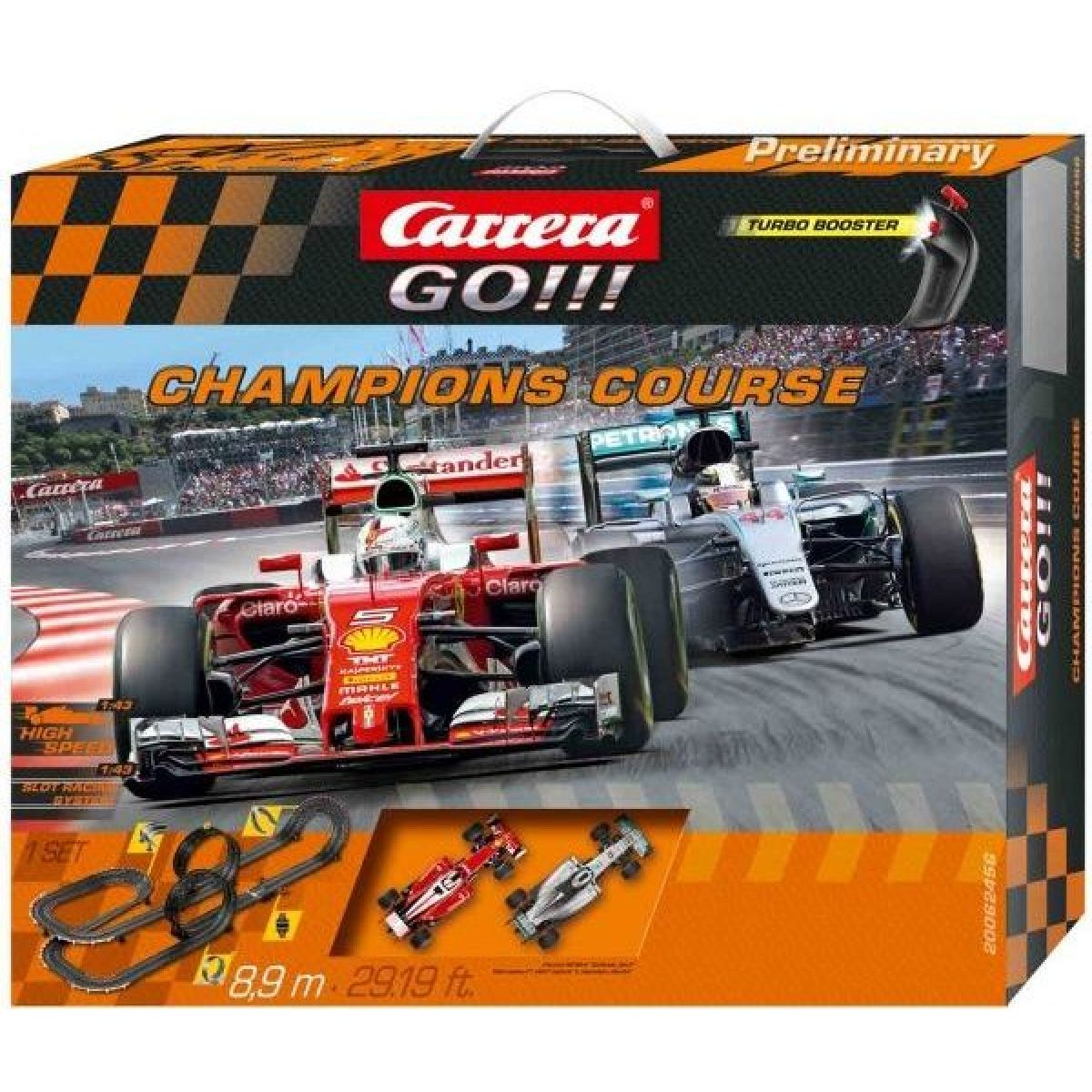Autodráha Carrera GO Champions Course