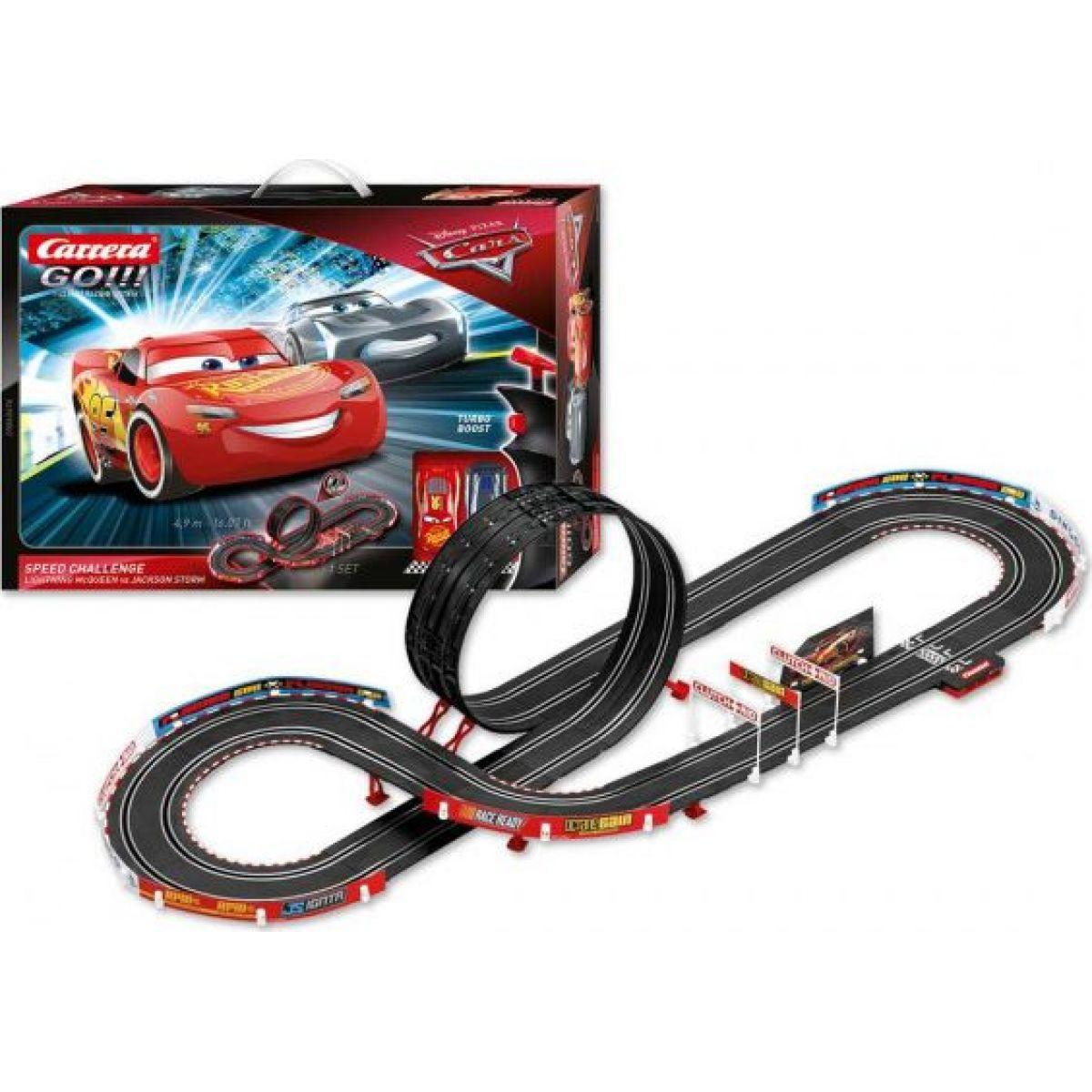 Autodráha Carrera GO Cars Speed Challenge