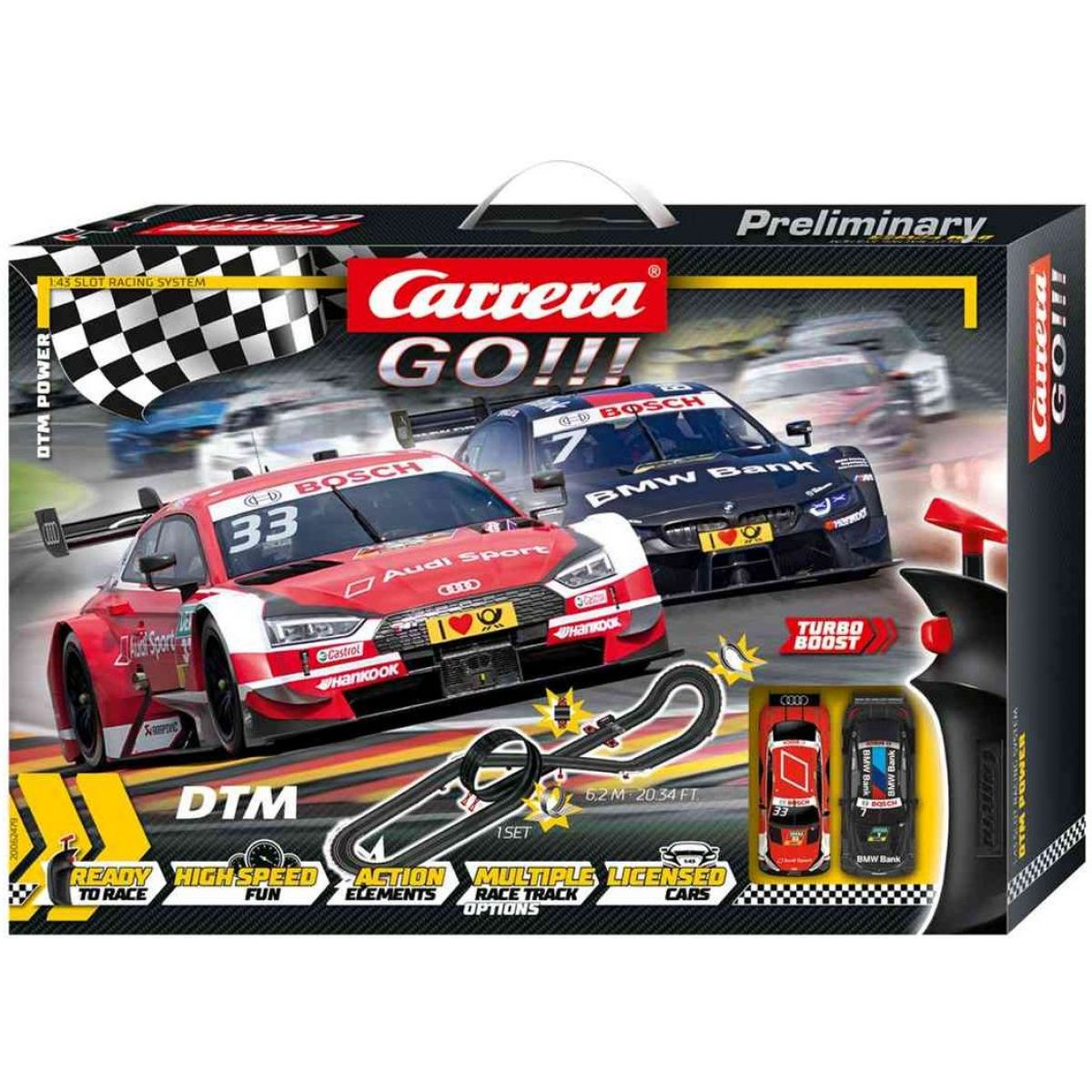 Carrera Autodráha Carrera GO DTM Power