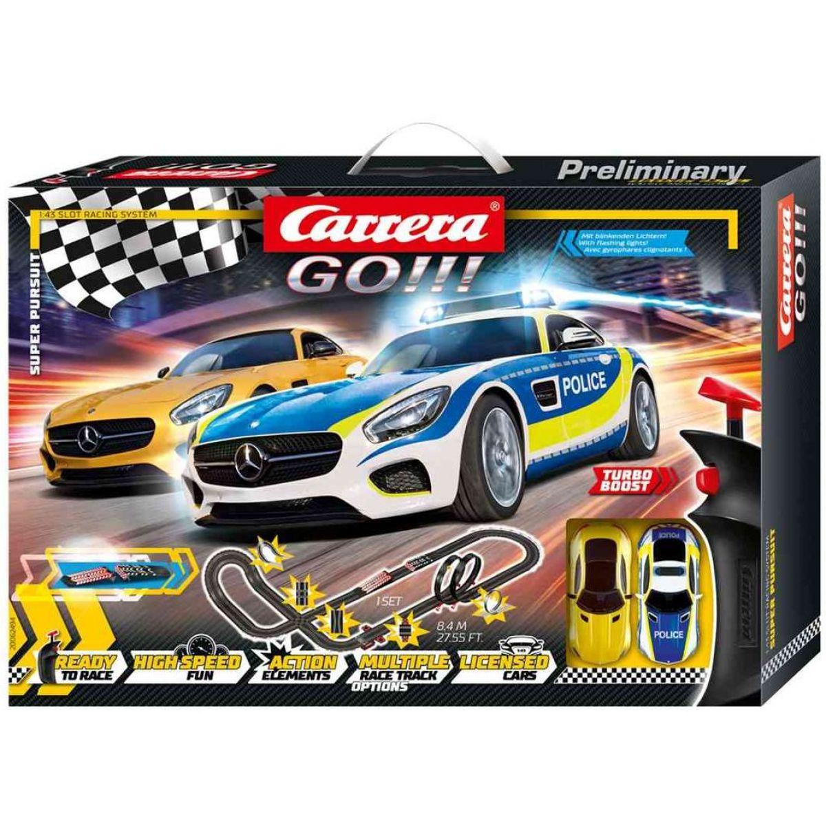 Carrera Autodráha Carrera GO Super Pursuit
