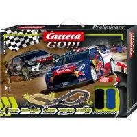 Carrera Autodráha Carrera GO Rally up!