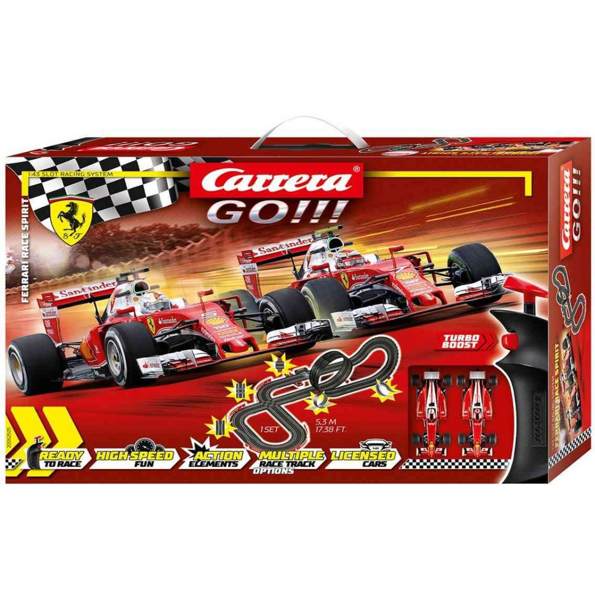 Carrera Autodráha Carrera GO Ferrari Race Spirit