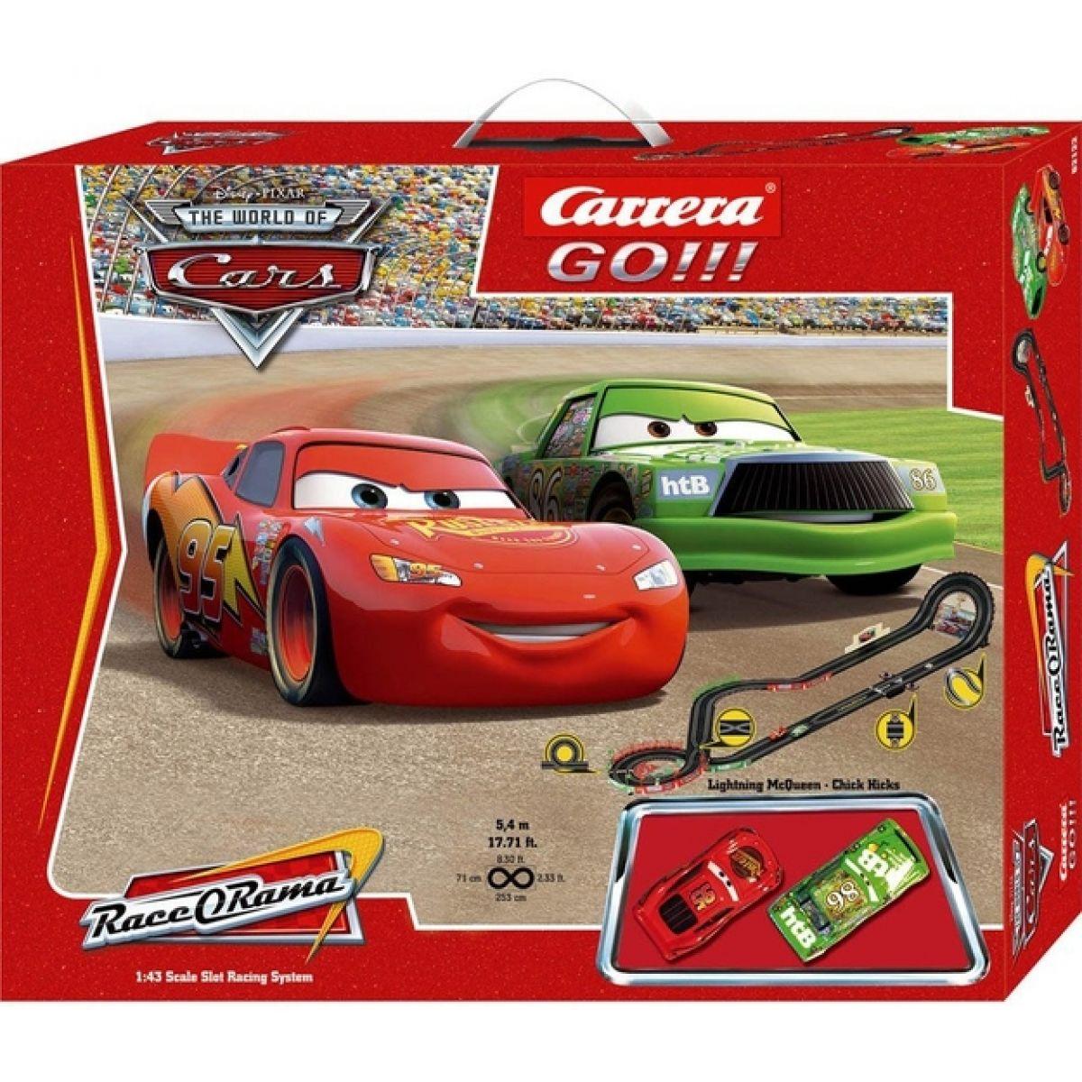 Autodráha Carrera Go GCG1010_21220 - Disney Cars - Auta