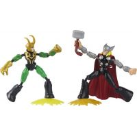 Avengers Bend and Flex Thor vs Loki