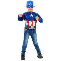 Rubie's Avengers Infinity War Captain America kostým triko s vycpávkami a maska