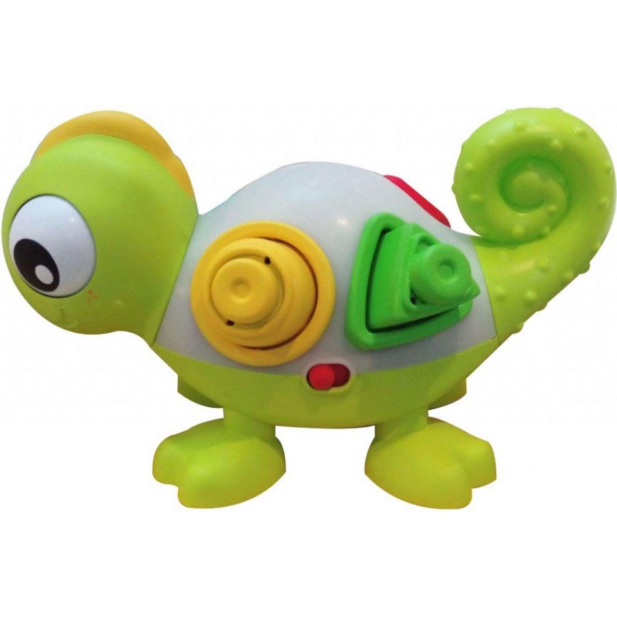 B kids Svítící chameleon