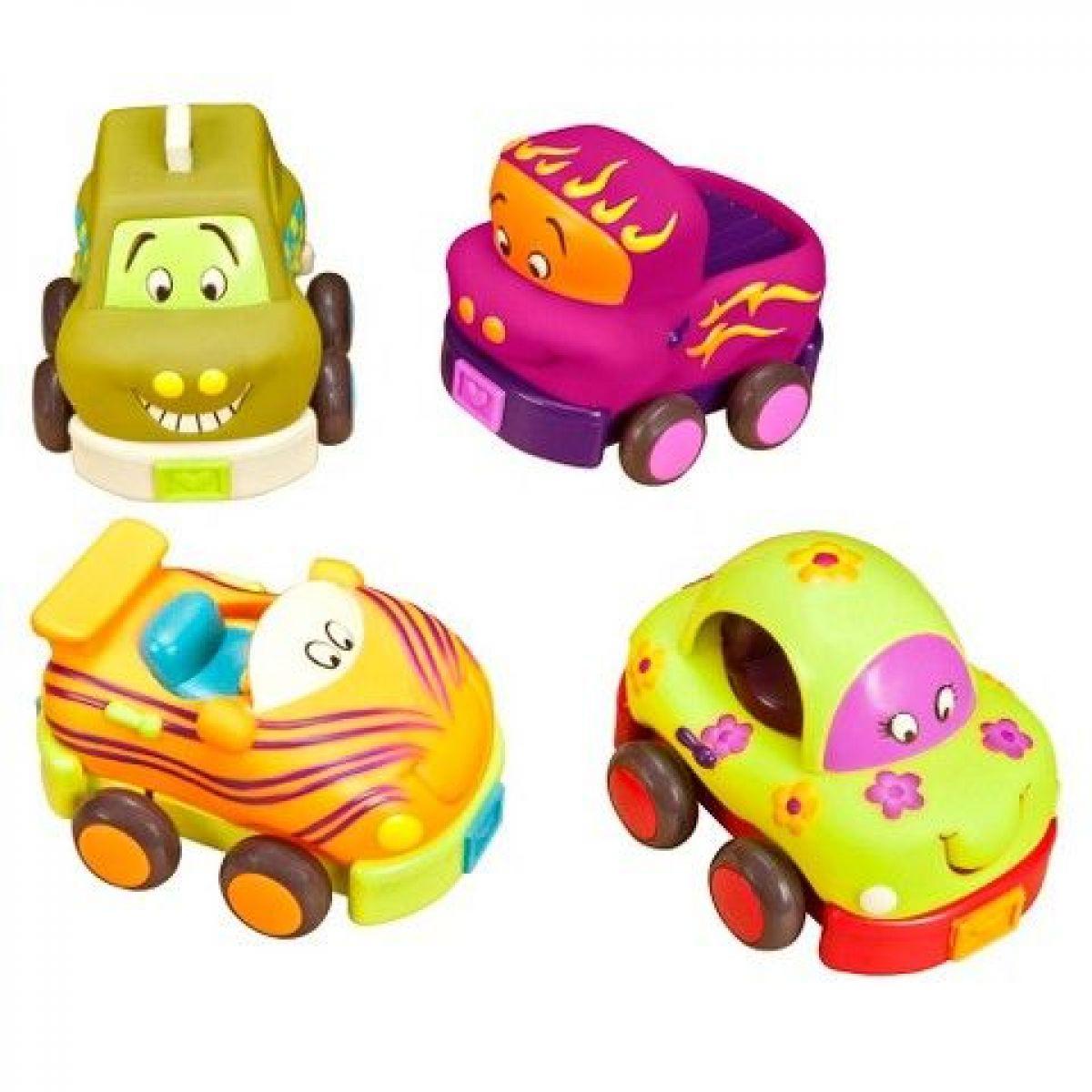 B.TOYS autíčko WHEEEE-IS! Formule/Oranžová B.Toys