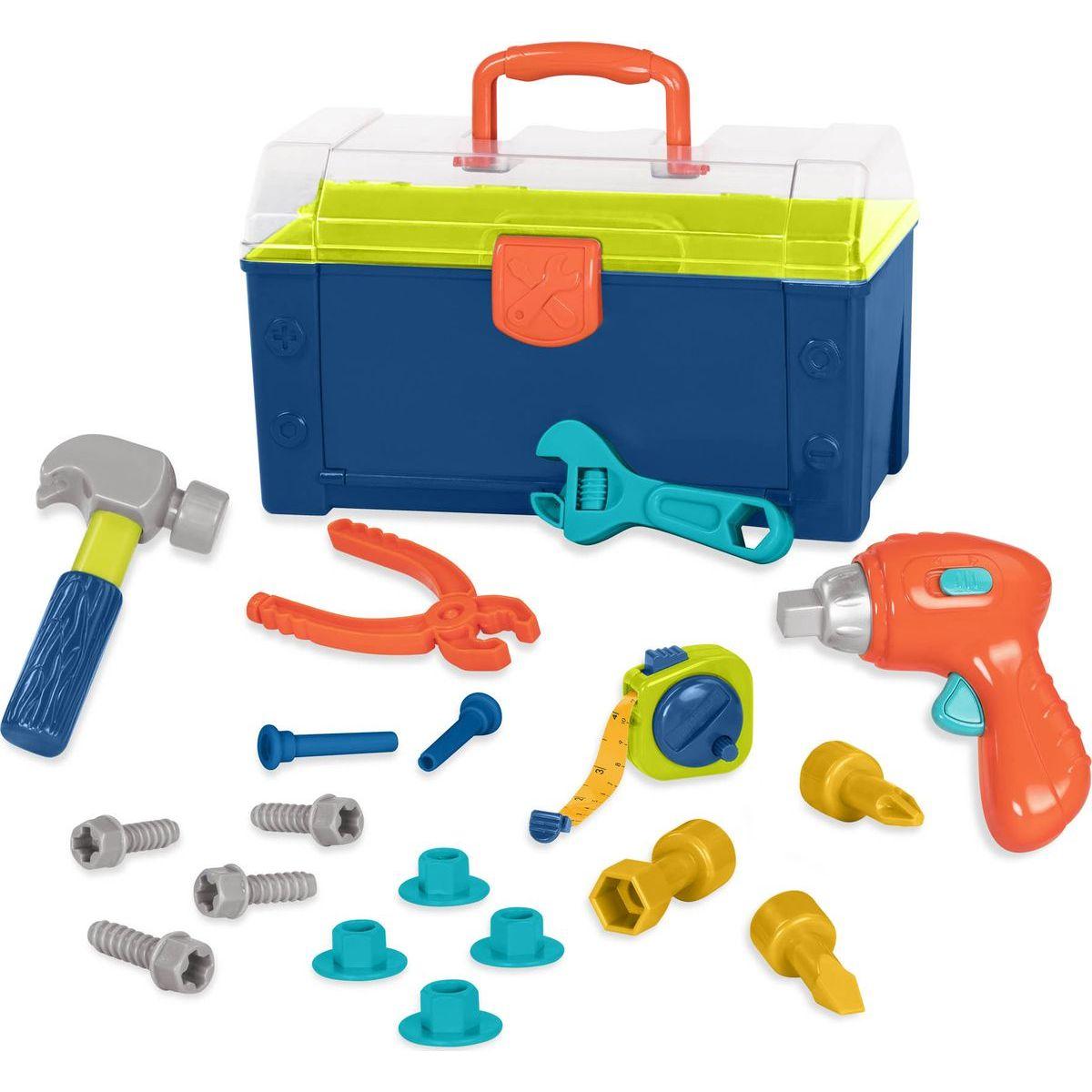 B.Toys Sada náradia v kufríku Busy Builder