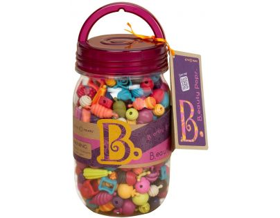 B.Toys Spojovací korále a tvary Beauty Pops 275ks