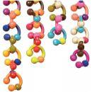B.Toys Spojovací kroužky Hugs Links Papaya 2