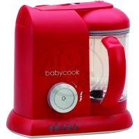 Béaba Parní vařič a mixér BabyCook Solo červená