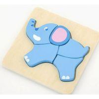Studo Wood Puzzle slon