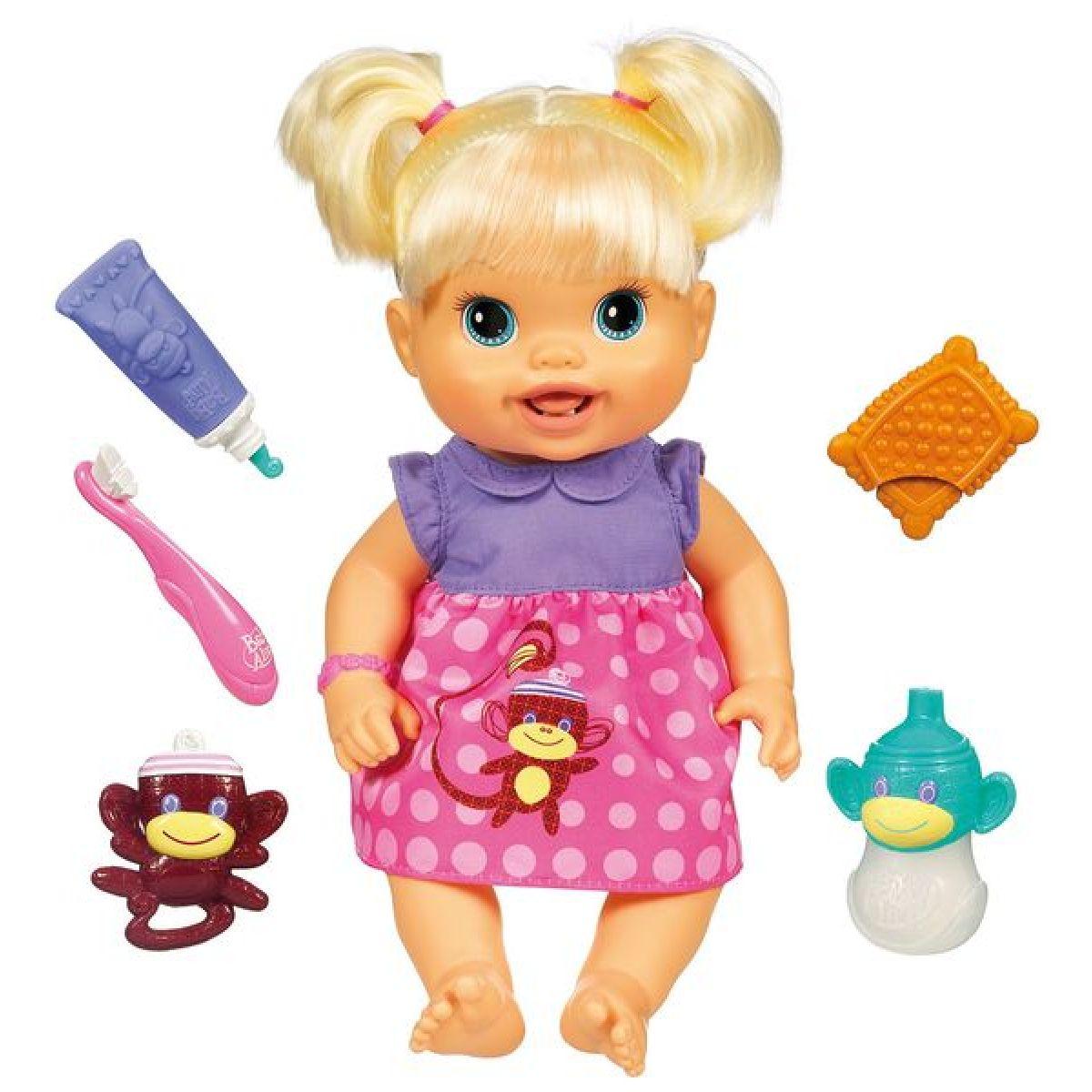 Hasbro 28385 - Baby Alive Panenka s rostoucími zoubky