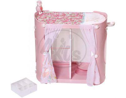 Baby Annabell 2v1 Šatní skříň a přebalovací stůl