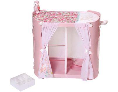 Zapf Baby Annabell 2v1 Šatní skříň a přebalovací stůl