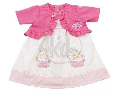 Baby Annabell Šatičky - Růžovo-krémové