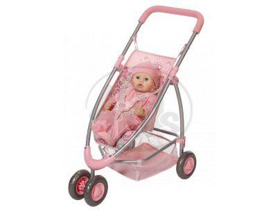 Baby Annabell 792872 - Baby Annabell® Moderní tříkolový kočárek