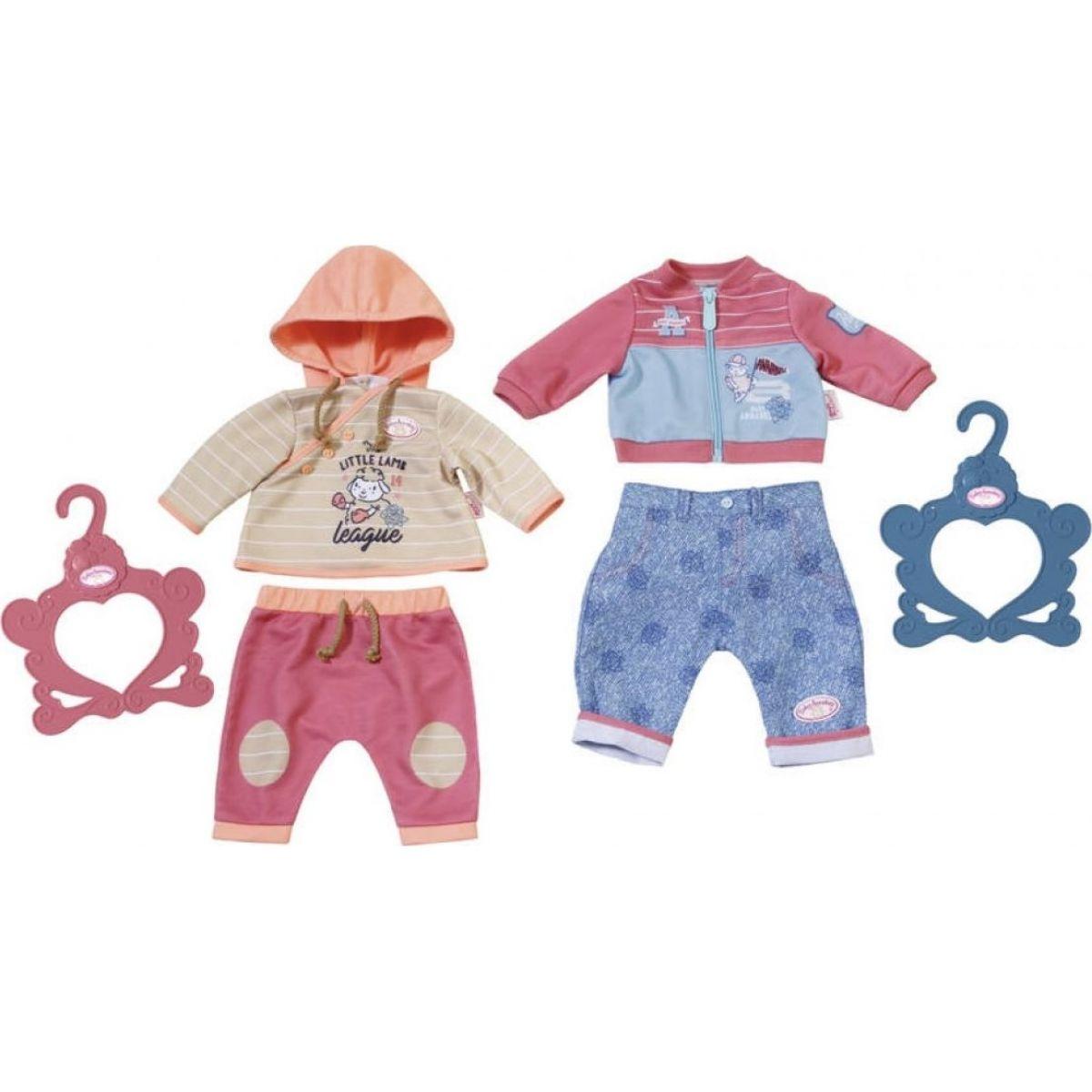 Zapf Creation Baby Annabell Oblečení 2 druhy - Oranžové Annabell