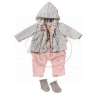 Baby Annabell Oblečení na ramínku - Šedá blůza