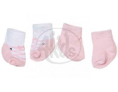 Baby Annabell Ponožky 2 páry - Růžová