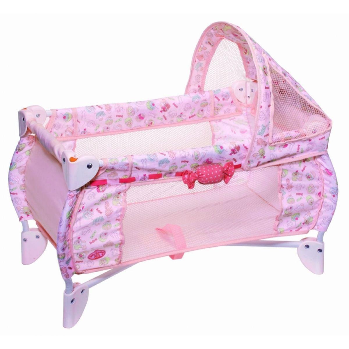 Baby Annabell 791073 - Skládací postýlka 2 v 1