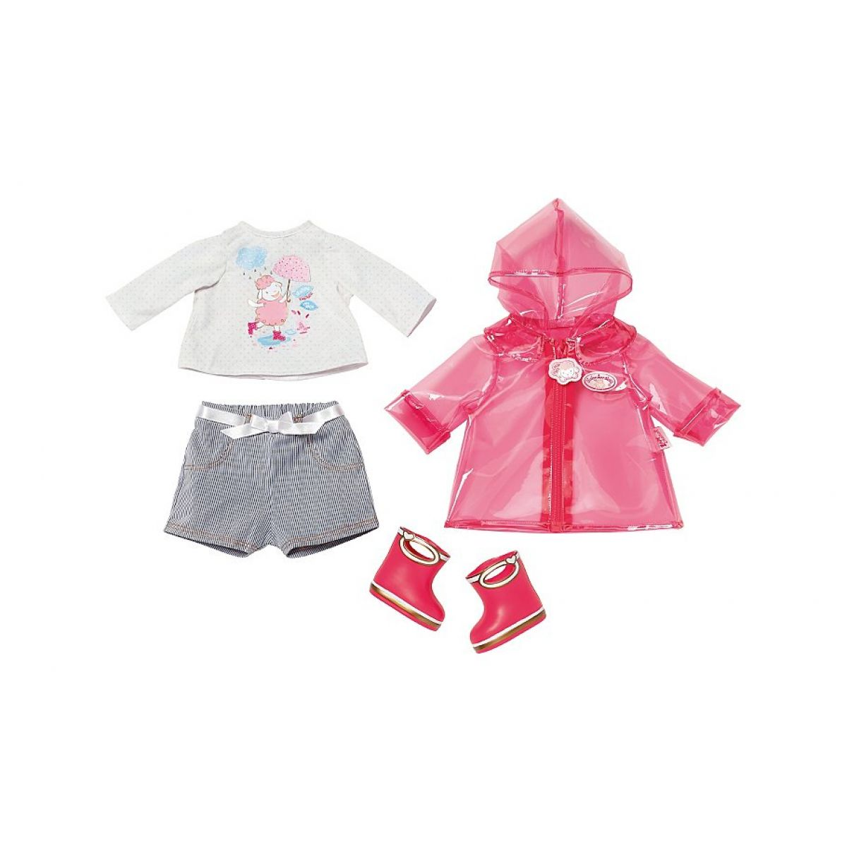 Baby Annabell Souprava do deště s holínkami