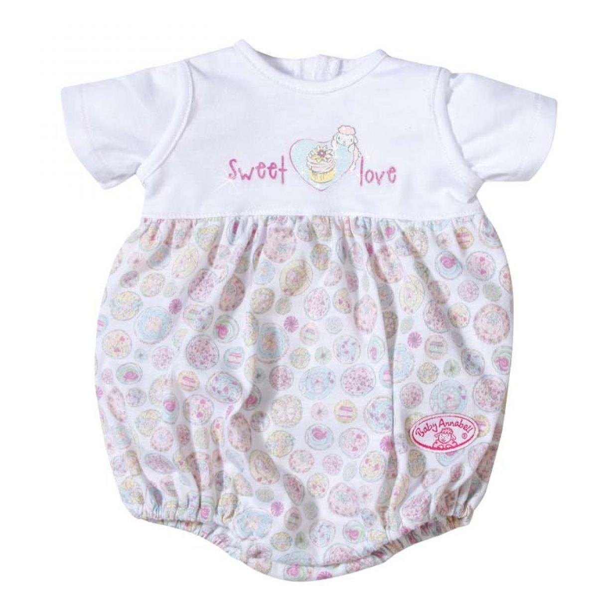 Baby Annabell Spodní prádlo 791172 - Bílé