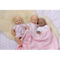 Baby Annabell Spodní prádlo 791172 - Bílé 2