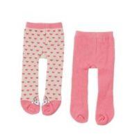 Baby Annabell® Punčocháče 2 ks Růžové