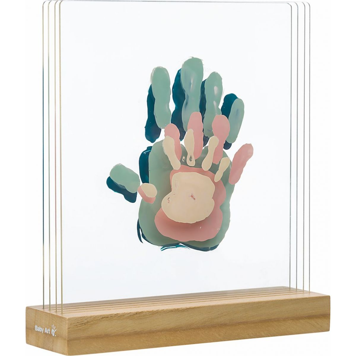 Baby Art Family Prints Wooden