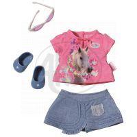 Baby Born Džínová kolekce - Růžové tričko