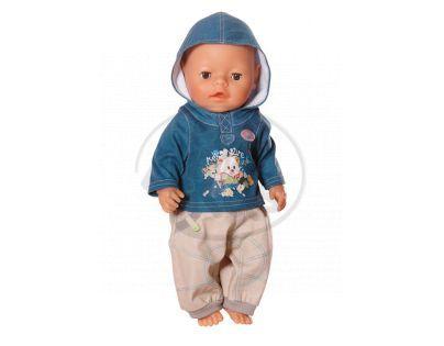 Baby Born Džínové oblečení pro chlapečka - Méďa