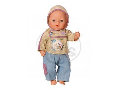 Baby Born Džínové oblečení pro chlapečka - Pejsek