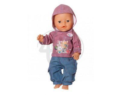 Baby Born Džínové oblečení pro chlapečka - Zajíček