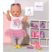 Baby Born Dva páry bot - Boty s tkaničkou a boty s nápisem 2
