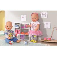 Baby Born Dva páry bot - Boty s tkaničkou a boty s nápisem 3
