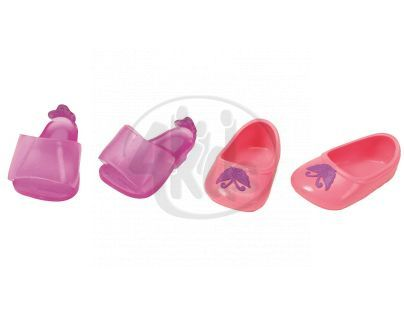 Baby Born Dva páry bot - Střevíčky a boty s motýlkem