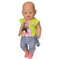 Baby Born Džínová kolekce - Zelené tričko 2