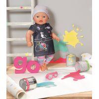 Zapf Creation Baby Born Džínová souprava - Džínové šaty 4
