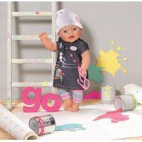 Zapf Creation Baby Born Džínová souprava - Džínové šaty 5
