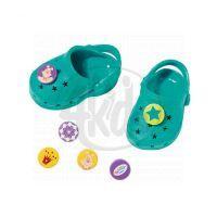Baby Born Gumové sandálky - Tyrkysová