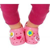 Baby Born Gumové sandály - Růžová světlá 2