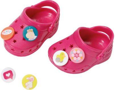 Baby Born Gumové sandály - Růžová tmavá