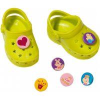 Baby Born Gumové sandály - Světle zelená